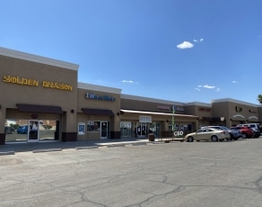Orange Grove Village Shopping Center in Tucson, AZ