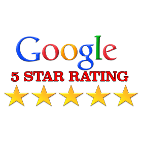Google ratings logo stucco service